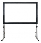 "AV Screen BX150NZV (4:3;150""), Front&Rear Fabric"